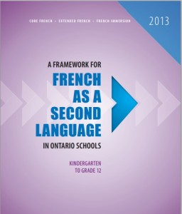 French as a Second Language,  Grade 9